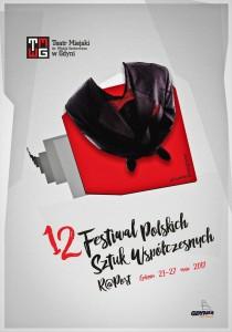plakat 12 Festiwal R@Port Piotr Kempiński 3